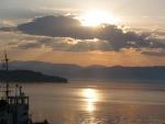 021 Lever de soleil sur le port de Corfou LEROY Bernard.JPG