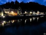055 Douce nuit sur le port de Dinan BARDOT Régis.jpg