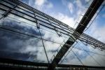 091 A bridge inside a glassy wall DELPORTE Xavier.JPG