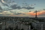 092 Paysage de la tour eiffel au couché de soleil - MORIN Louis.jpg